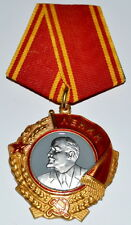 """SOVIET RUSSIAN ORDER  AWARD """"ORDER OF LENIN"""". USSR REWARD COPY"""
