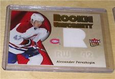 2005-06 Ultra Hockey Alexander Perezhogin Jersey Card