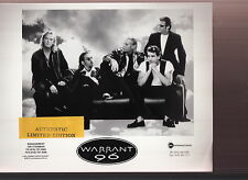 warrant limited edition press kit