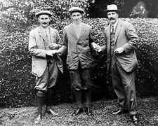 Golfers HARRY VARDON, FRANCIS OUIMET & TED RAY Glossy 8x10 Photo Golf Pose Print