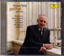Maurizio POLLINI: BEETHOVEN Piano Sonata No.13 14 17 21 Moonlight Tempest CD NEU