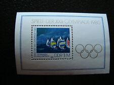 ALLEMAGNE (rda) - timbre - yvert et tellier bloc n° 58 n** (Z3) stamp germany(Z)