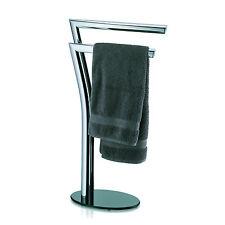 Handtuchhalter Chrom 2-armig Handtuchständer Handtuchstange Standhandtuchhalter