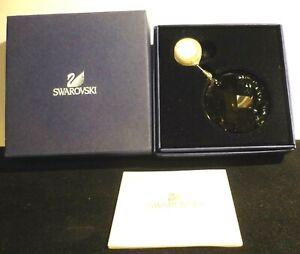 """Swarovski 2010 SCS Window Ornament Sun Catcher"""" Earth"""" Box- Cover-Certificate"""