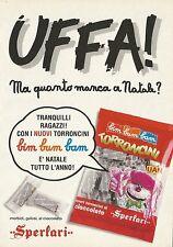 X2539 Torroncini SPERLARI - Pubblicità 1991 - Advertising