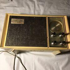 Vintage Sears Solid State Silvertone Transistor Counter Top AM Radio Model 6008