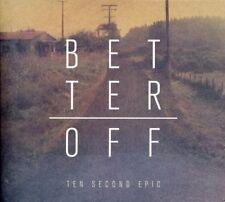 Ten Second Epic - Better Off [New CD]