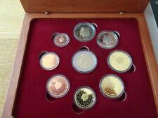 NEDERLAND, 2007- Proofset, alle 8 de munten  van 1 cent t/m 2 euro + 2 V.V.Rome