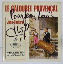 Le galoubet provençal 45 tours Jean Coutarel Dédicacé !
