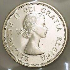 1963 Canada Silver 25 Cents UNCIRCULATED Coin Sealed Acid Free Pk #coinsofcanada