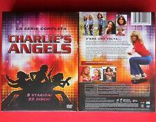 box set 29 dvd charlie's angels serie completa complete series farrah fawcett gq