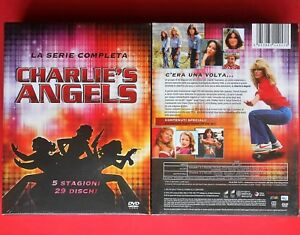 box set 29 dvd charlie's angels serie completa complete series farrah fawcett id