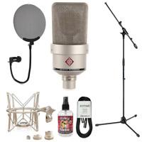 New Neumann TLM 103 Large-Diaphragm Condenser Microphone (Nickel) + Accessories!