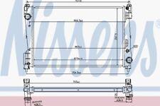 MANUAL RADIATOR WATER COOLING ENGINE RADIATOR NISSENS NIS 61919