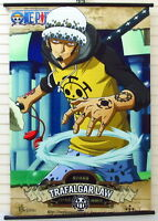One Piece Trafalgar Law Anime Manga Wallscroll Stoffposter 60x90cm Neu
