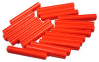LEGO Technik - 20 x Achse 4 Noppen lang rot / Kreuzachse / 3705 NEUWARE