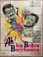 Plakat Ah! Les Schöne Pantomime Cabaret Louis De Funès Colette Bourne 120x160