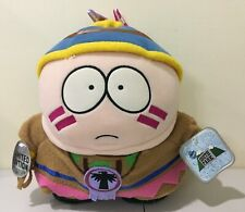 RARE South Park 1998 Plush Toys CARTMAN Native American Limited Edition w/  Tags