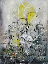 Udo Nolte: Vivaldi. Quattro Stagioni. Original-Radierung, signiert/nummeriert