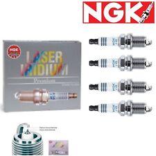 4 - NGK Laser Iridium Plug Spark Plugs 1998-2002 Isuzu Rodeo 2.2L L4 Kit Set