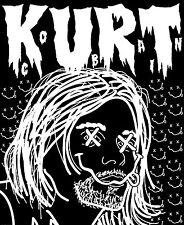 "3"" NIRVANA X'ed Kurt STICKER. Seattle grunge, Kurt Cobain. For your Bong or pipe"