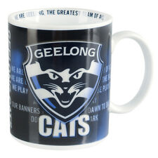 Geelong Cats AFL Team Song Coffee Mug/Cup **AFL OFFICIAL MERCHANDISE**