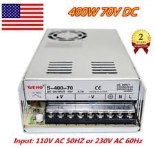 Us 400w 70v Dc Switch Power Supply Transformer 110v For Lcdled Lightcctvcnc