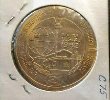 Century 21 exposition 1962 Seattle 1 one dollar token Space age worlds fair w522