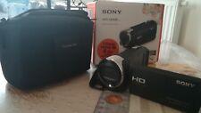 Caméscope Sony Hdr Cx240e avec Étui Offert