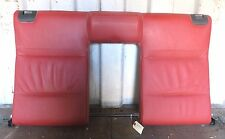 2011-2013 BMW 335i CONVERTIBLE E93 OEM REAR UPPER SEAT BENCH BACKREST CORAL RED