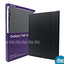 "Genuine Samsung GALAXY TAB S2 9.7"" BOOK COVER CASE BLACK EF-BT810PBEGCA OFFICIAL"