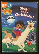 Dora The Explorer Lot 1 DVDs Diego Saves Christmas! Llama Santa Winter Holiday