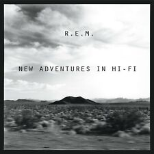 "Reproduction ""R.E.M. - New Adventures In Hi-Fi"",  Album Poster, Size: 16"" x 16"""