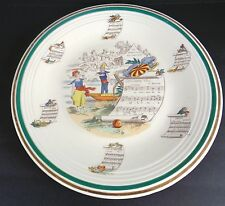 """CLASSIC  ITALIAN LARGE SERVING PLATTER - PV - CLEAN & BRIGHT """"LOVELY"""""""