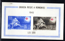 "*** 1941/43, 3.REICH,"" ROMANIA (2) SHEETS "" MINT / MNH..  """""