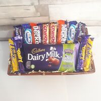 Chocolate hamper dairy milk 13 bar selection birthday gift basket Christmas gift