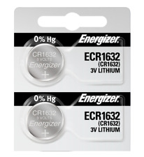 Energizer ECR1632 Lithium Coin Cell Batteries 2pack