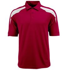 NEW Dri-Fit Polyester Adult Polo [Red/White, 3XL]