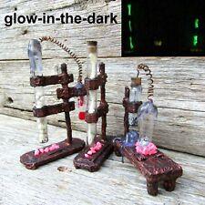 Halloween miniature dollhouse Wizard alchemy Cabinet curiositie Labratory 1/6