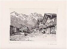 Original-Radierungen (1900-1949) aus Deutschland mit Landschafts-Motiv