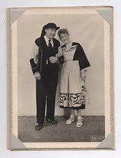 PHOTO Vincent La Varenne Costume Coiffe Dentelle Bretagne Bretonne Couple 1950