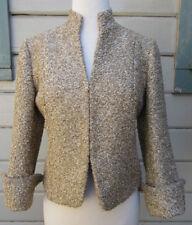 Lafayette 148 Golden Boucle Street Chic Blazer Jacket Wms 4