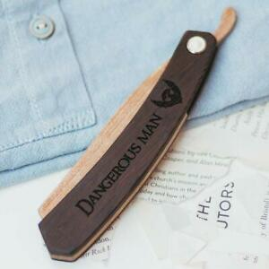 Wood Folding Beard Comb Mustache Small Grooming for Men Personalized Man Gift