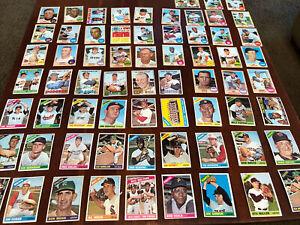 66 Diff 1966 1967 1968 Topps Baseball HOFERs,Stars,Specials EX-MT NM Lot #4