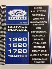 Ford 1720 Tractor Service Manual Repair Manual Technical Manual Shop Manual