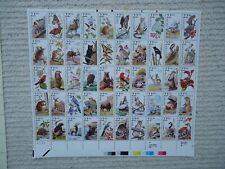 Sheet of 50 1987 USA CAPEX 87 North American Wildlife MNH SG2256a Sc2335a