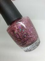 OPI Katy Perry Teenage Dream NL K07 Nail Polish Retired Collection Pink Sparkle