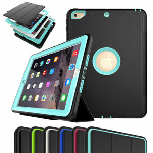 For iPad 6th 5th Generation 9.7'' Flip Smart Stand Case Cover w Screen Protector