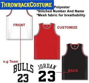 Michael Jordan #23 Kids/Youth Chicago Bulls Stitched Red/Black Basketball Jersey