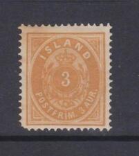 Iceland - SG 20b - l/m - 1884 - brownish orange - perf. 14 x 13 1/2